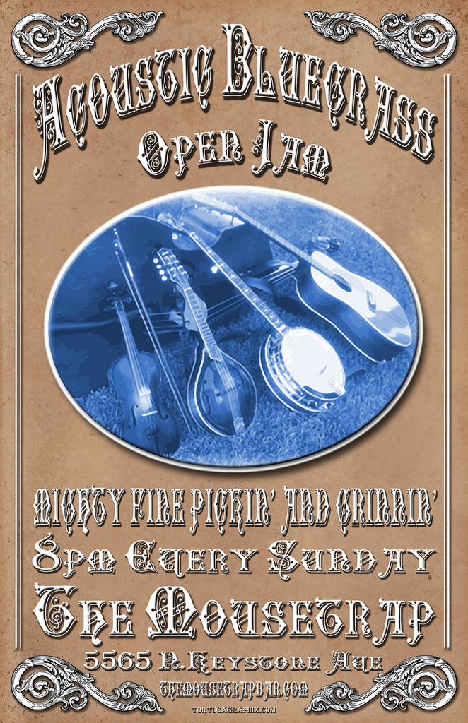 Acoustic Bluegrass Open Jam - EVERY SUNDAY