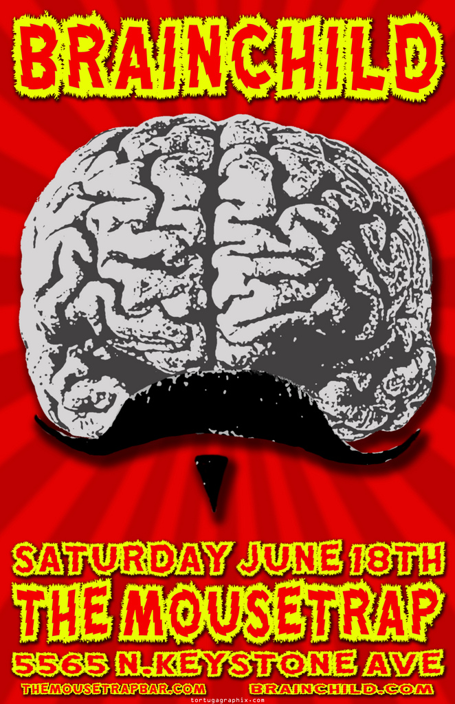 Brainchild performs Saturday, June 18th, 2011