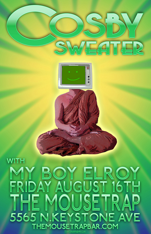Cosby Sweater w/ My Boy Elroy - Friday, August 16th