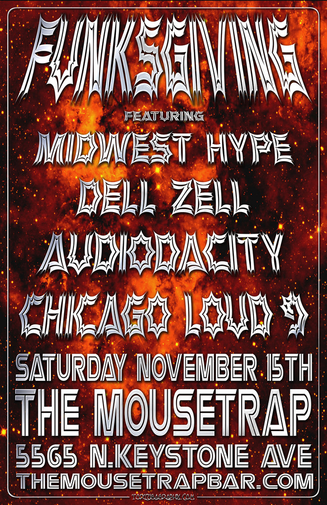 FUNKSGIVING feat. Midwest Hype, Dell Zell, Audiodacity and Chicago Loud 9 (IL)