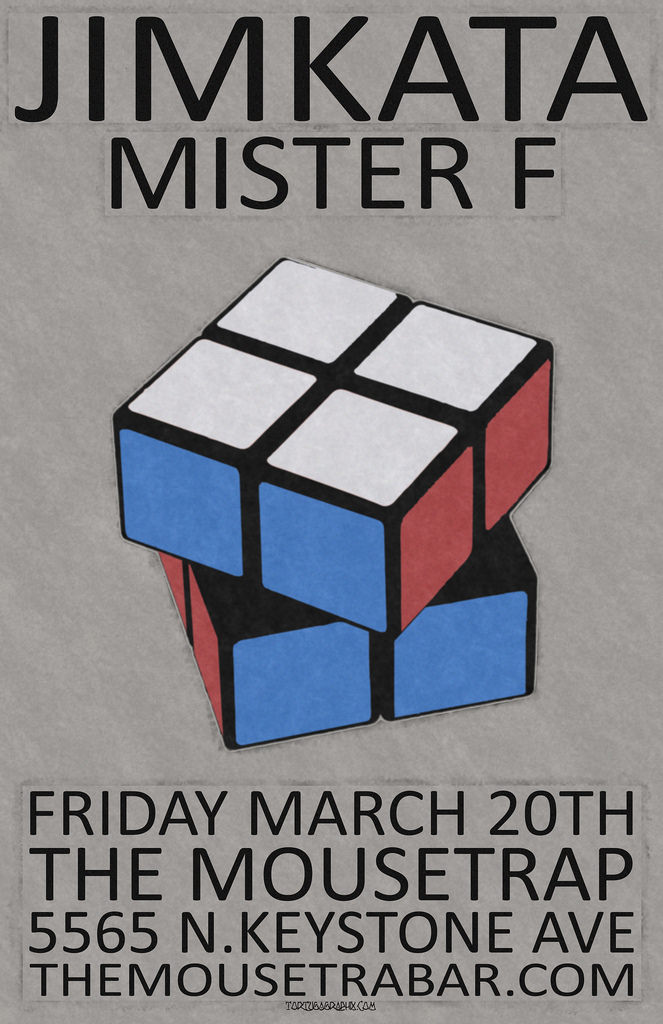 Jimkata w/ Mister F - Friday, March 20th