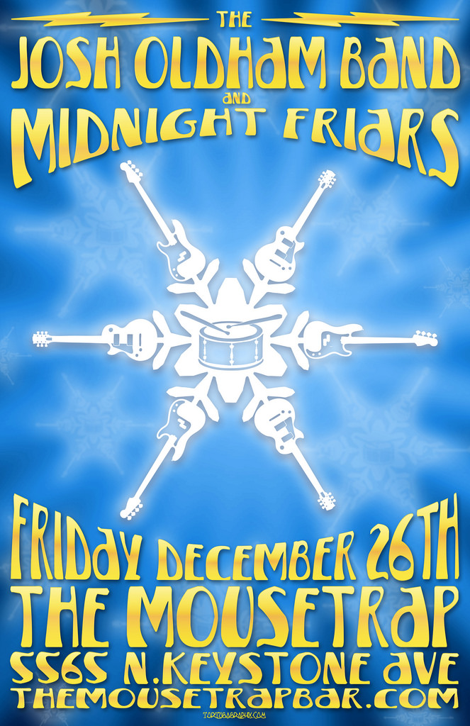 Josh Oldham and the Midnight Friars - Friday, December 26th