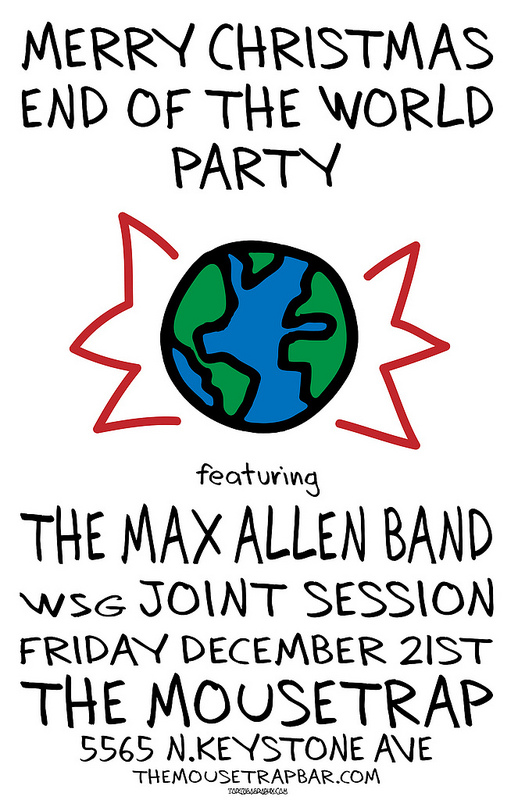 Max Allen Band w Joint Session - Friday, December 21st