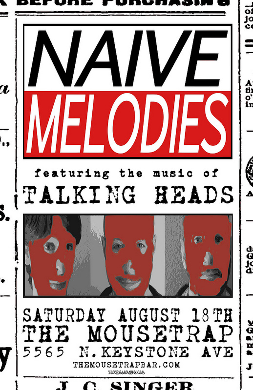Naive Melodies - Saturday, August 18th