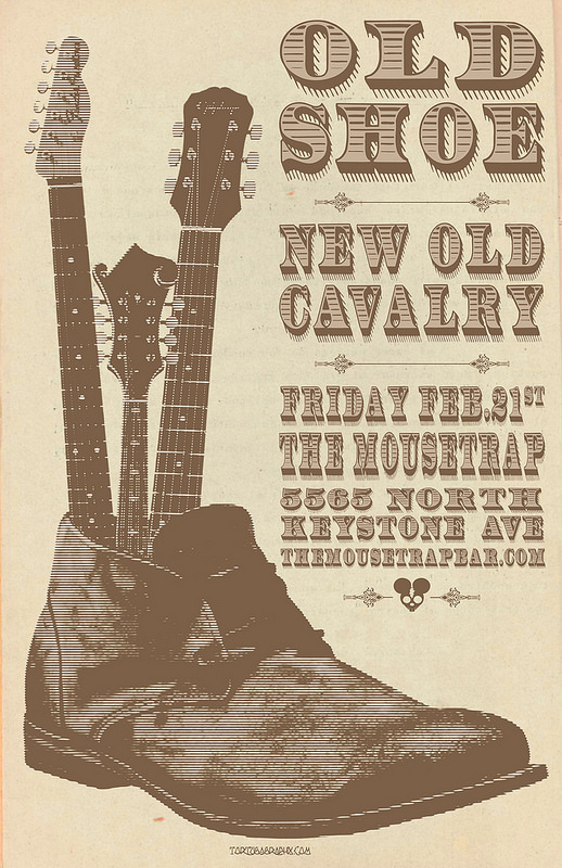 Old Shoe w/ New Old Cavalry - Friday, Feb 21st