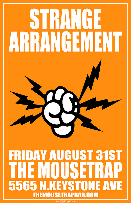 Strange Arrangement - Friday, August 31st