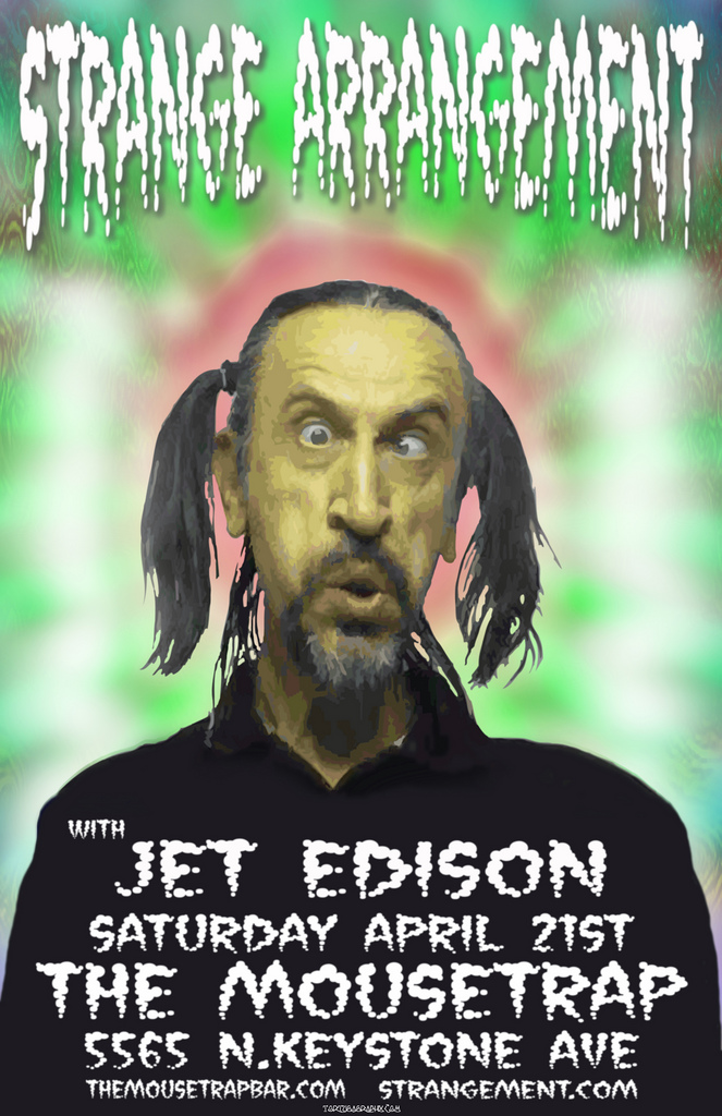 Strange Arrangement w/ Jet Edison - Saturday, April 21st