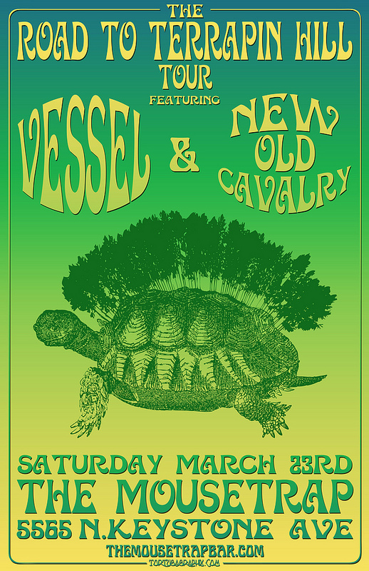 The Road to Terrapin Hill w/ Vessel & New Old Cavalry - Saturday, March 23rd