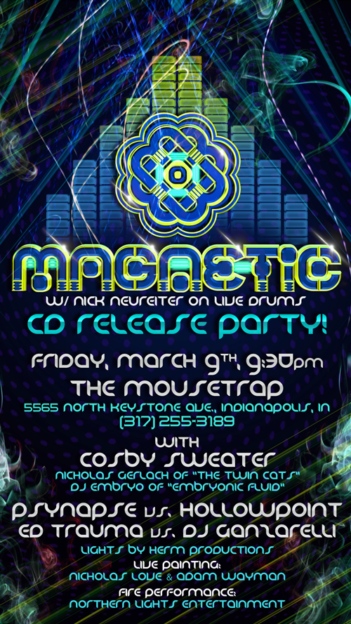 Magnetic CD Release Party - Friday, March 9th