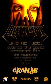 IndyMojo Presents: An ORANJE Peel Party w/ DIESELBOY