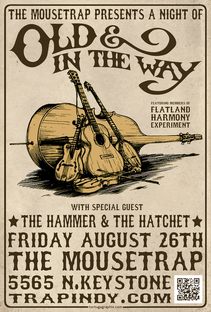 A Night of Old and in the Way w/ The Hammer and the Hatchet – Friday, August 26th