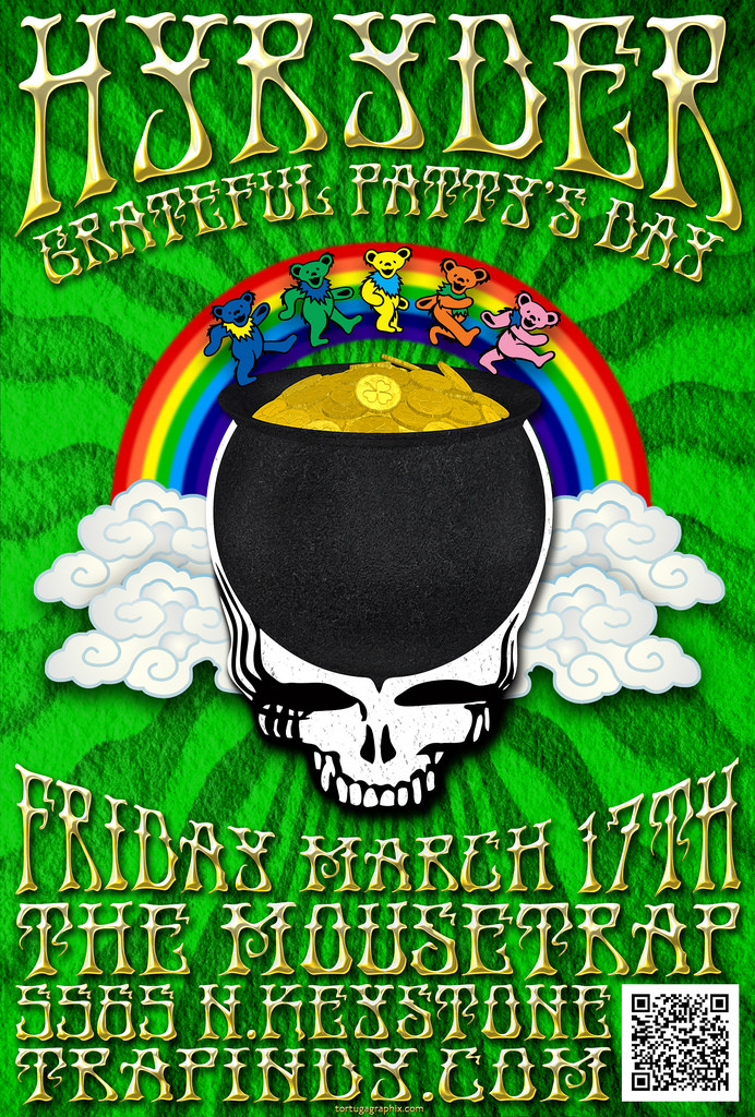 Hyryder's St. Patrick's Day Party - Friday, March 17th