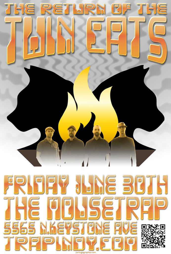 The Twin Cats - Friday, June 30th