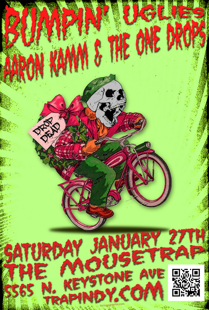 Bumpin' Uglies w/ Aaron Kamm and The One Drops - Saturday, January 27th