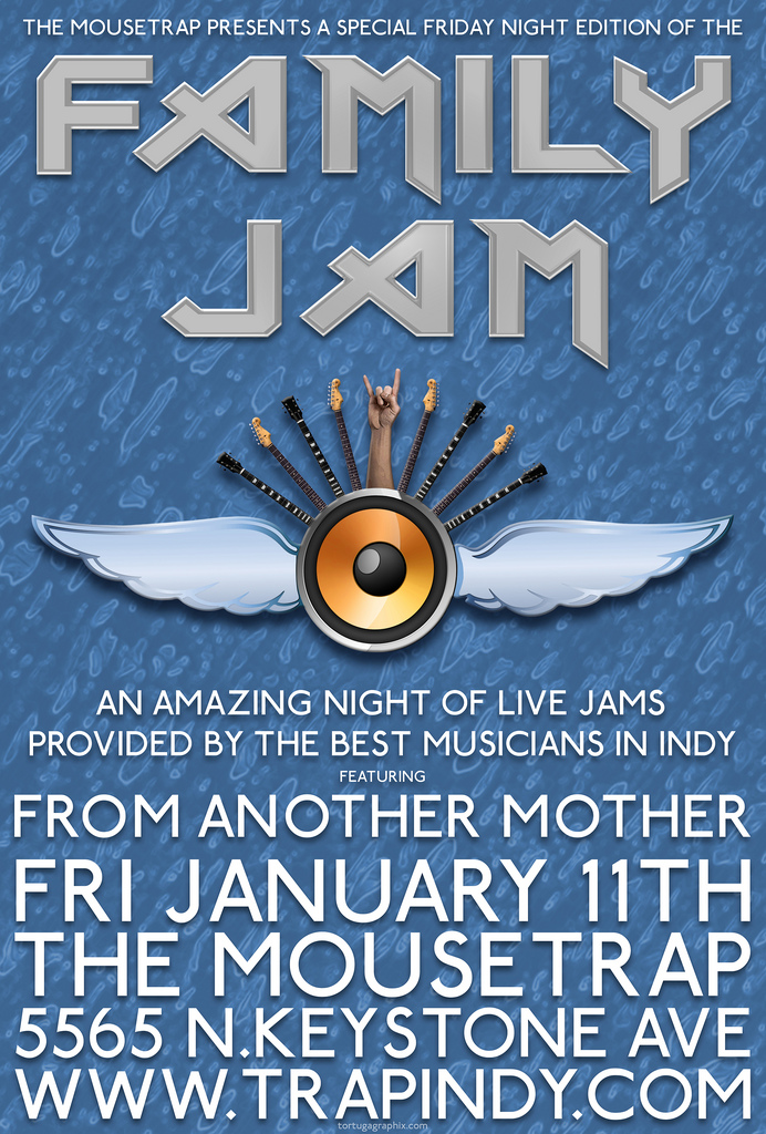 Family Jam Friday Edition - Friday, January 11th