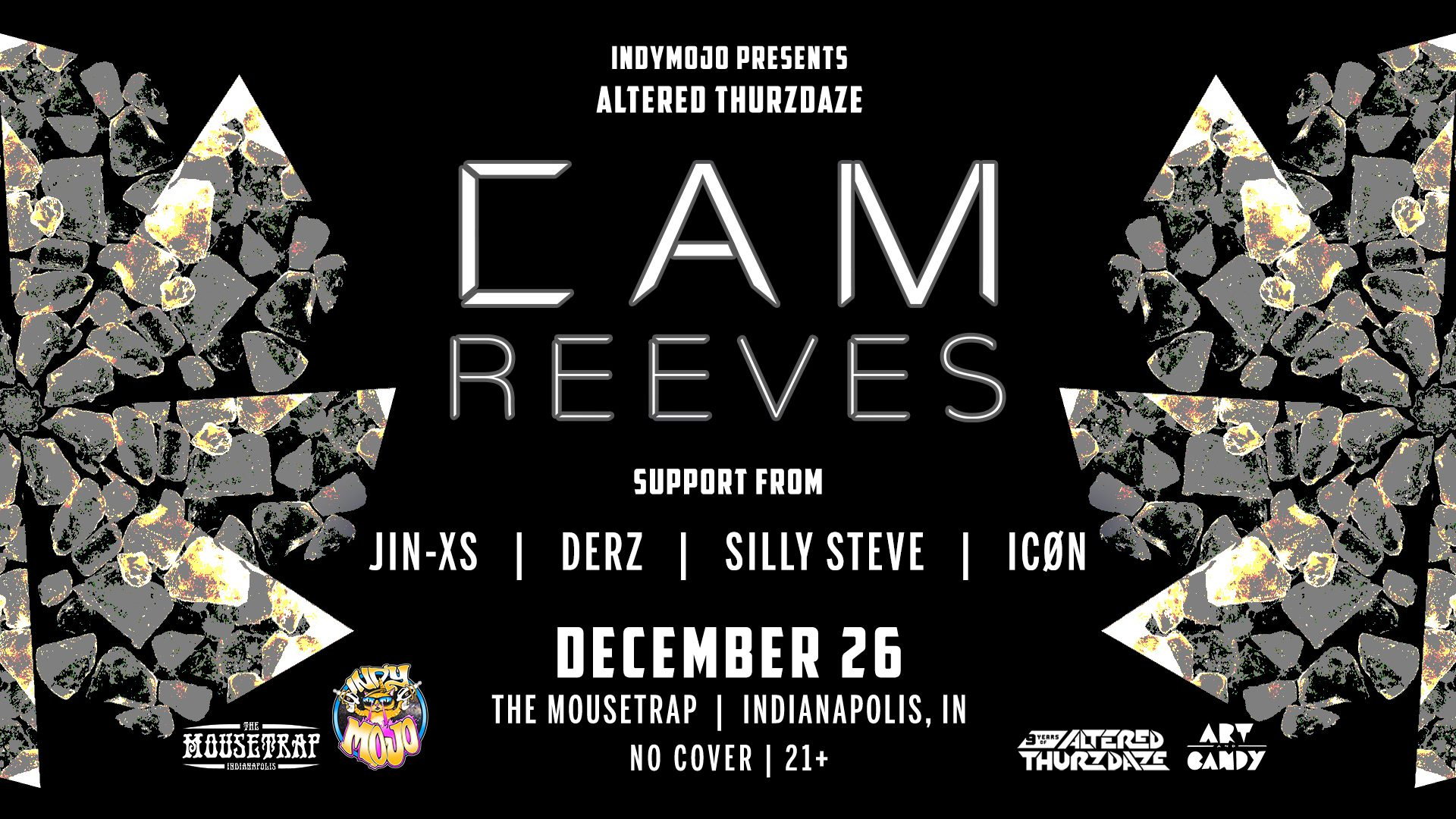 Altered Thurzdaze w/ Cam Reeves + Friends - Thursday, December 26th