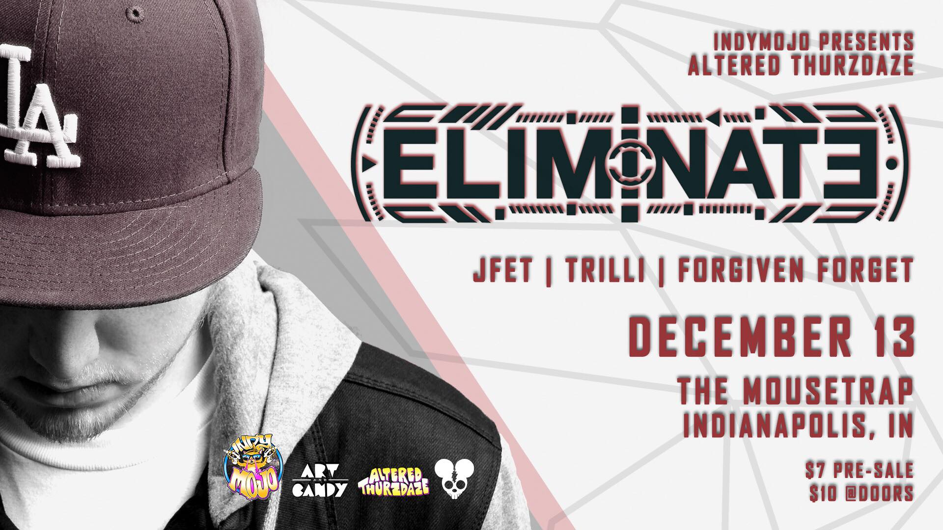 Altered Thurzdaze w/ Eliminate - Thursday, December 13th