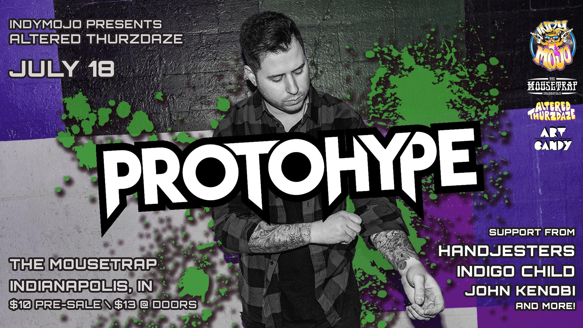 Altered Thurzdaze w/ Protohype - Thursday, July 18th