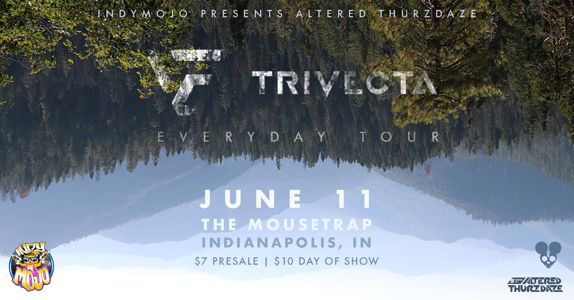 Altered Thurzdaze w/ Trivecta - Thursday, June 11th
